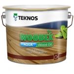 Вудекс Аква Вуд Ойл Коричневый (Woodex Aqua Wood Oil)