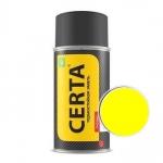Краска-спрей термостойкая Certa Жёлтая