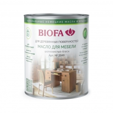 Biofa 2049 Масло для мебели Биофа