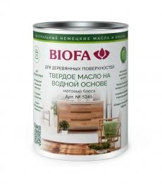 Biofa 5245 Твёрдое масло на водной основе Матовое Биофа