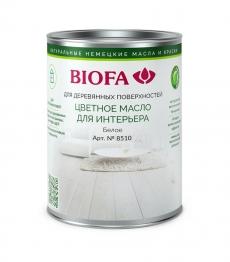 Масло цветное Биофа 8510 Белый (Biofa)