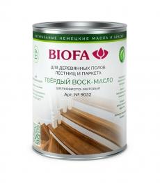 Biofa 9032 Твёрдый Воск-Масло Шелковисто-матовый Биофа
