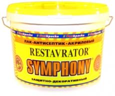 Лак-антисептик Реставратор шелковисто-матовый (Symphony Restavrator)