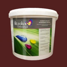 Резиновая краска Резолюкс Универсал Красно-коричневая (Rezolux Universal RAL 8012)