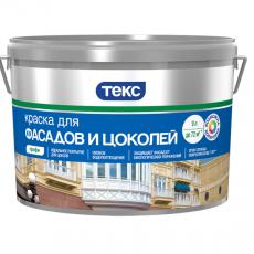 Текс Краска для фасадов и цоколей Профи
