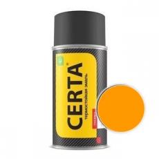 Краска-спрей термостойкая Certa оранжевая 400°(Certa)