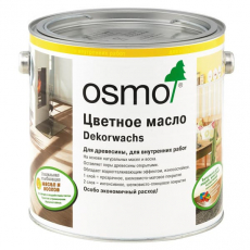 Цветное масло Osmo 3103 Дуб светлый Осмо Dekorwachs Transparente Farbtone