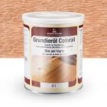 Цветное грунтовочное масло Borma Grundieroil Coloroil 01 Белёный Дуб