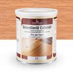 Цветное грунтовочное масло Borma Grundieroil Coloroil 02 Молочный Дуб
