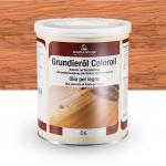 Цветное грунтовочное масло Borma Grundieroil Coloroil 06 Натуральный бук