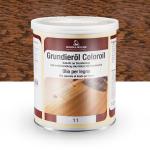 Цветное грунтовочное масло Borma Grundieroil Coloroil 11 Тёмный Дуб