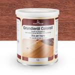 Цветное грунтовочное масло Borma Grundieroil Coloroil 13 Махагон