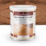 Цветное грунтовочное масло Borma Grundieroil Coloroil 14 Дуб Антик