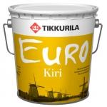 Лак Tikkurila Euro Kiri полуматовый