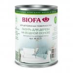 Biofa 5177 Белая Лазурь для дерева на водной основе Биофа