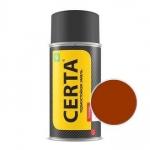 Краска-спрей термостойкая Церта красно-коричневая 650°(Certa)