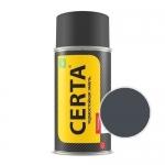 Краска-спрей термостойкая Церта графит 600°(Certa)