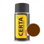 Краска-спрей термостойкая Церта Коричневая (Certa)