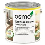 Цветное масло для стен насыщенных тонов Osmo 3186 Белый матовый Dekorwachs intensive Farbtone