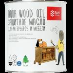 Защитное масло для интерьеров и мебели S&H Aqua Wood Oil