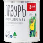 Биозащита древесины Лазурь 3в1 S&H Technology